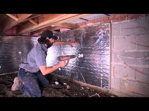 Solving Crawl Space Mold Problems in Michigan | Crawl Space Encapsulation on the Handyman Show