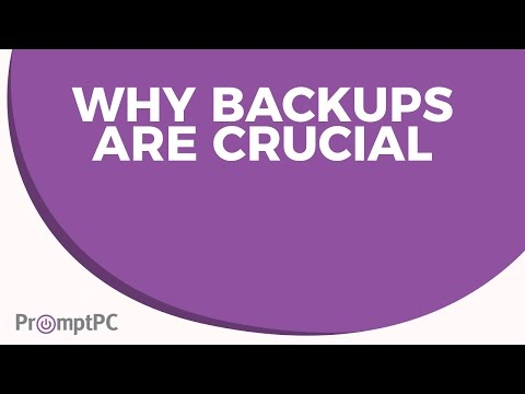 Why Backups Are Crucial