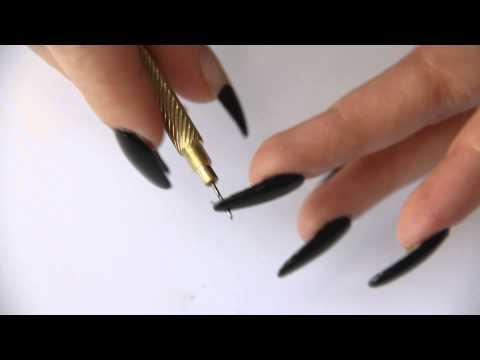 Floss Gloss Nail Piercing Tutorial