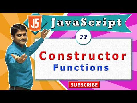 JavaScript tutorial 94 - Why constructor function