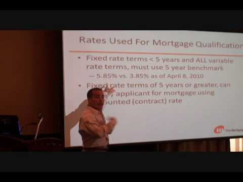 New Mortgage Rules Presentation 2010 pt 1