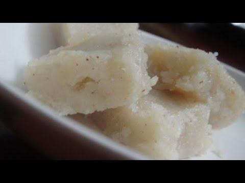 Coconut Barfi | தேங்காய் பர்பி | Recipe | Gowri Samayalarai