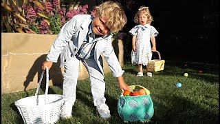 Tydus STOLE another kids EASTER EGGS! *bad idea*