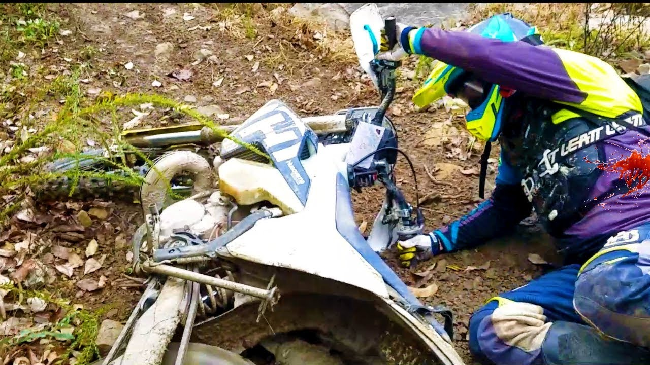 EXTREMELY DANGEROUS!   Every Dirt bikers BIGGEST FEAR.