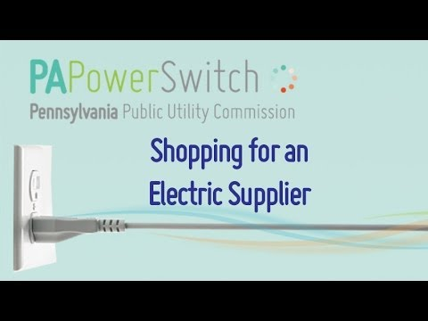 Shopping for Electricity
