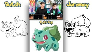 Blind Pokémon Drawing Challenge