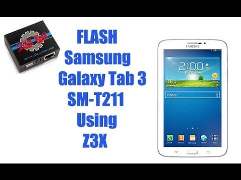 Flash Samsung Tab 3 SM T211 by Z3X Box