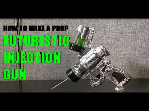 How to Make A Prop Futuristic Injection Gun
