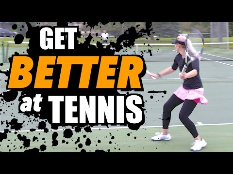 How To Get Better at Tennis - Tennis Lesson