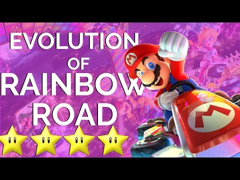 The Musical Evolution of Rainbow Road