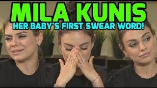 Bad Moms Quiz: Mila Kunis reveals her daughter's first swear word!