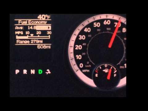 Dodge Ram 2500 5.7L MPG