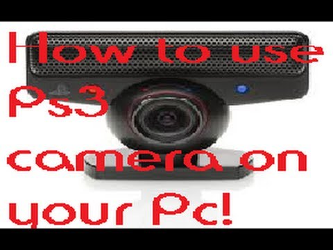 How to use Ps3 camera on your Pc!