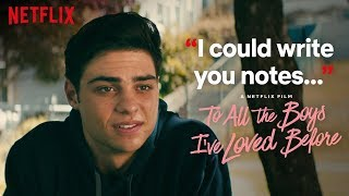 Peter and Lara Jean Sign the Contract   To All the Boys I've Loved Before   Netflix