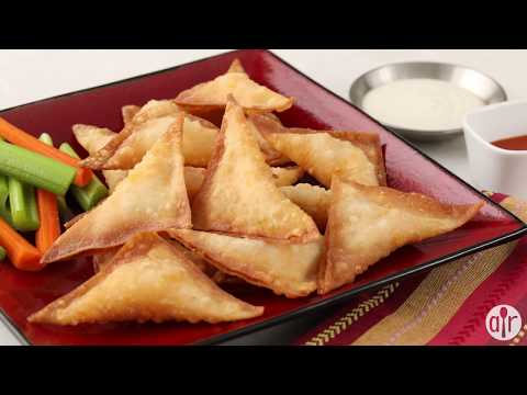 How to Make Crispy Buffalo Chicken Wontons | Appetizer Recipes | Allrecipes.com