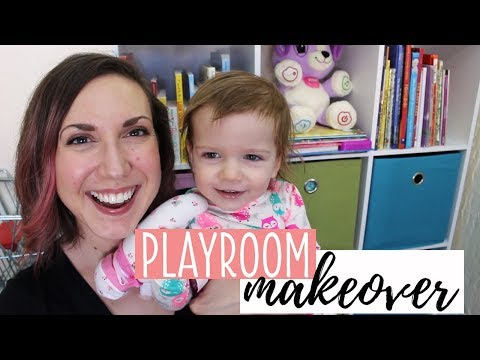 Playroom Declutter and Organization