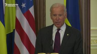 Biden: Keep Sanctions On Russia For