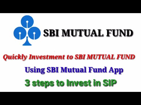 How to Invest In SBI Mutual Fund SIP on Mobile | How to invest in Mutual Fund Using SBI App