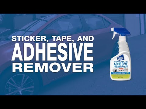 How to Remove Bumper Stickers and Adhesives from Car