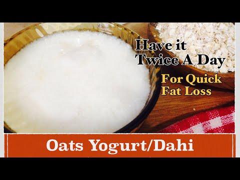 Oats Yogurt Recipe | How to make Oats Curd/Dahi at Home | Healthy Weight Loss Recipe| In Hindi