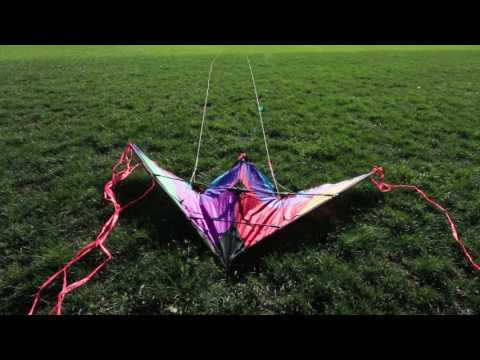 How-to Launch A Stunt Kite Tutorial