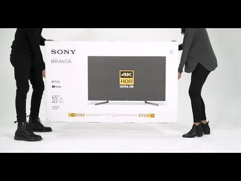 Sony - BRAVIA - Unboxing the X90F/XF90 series