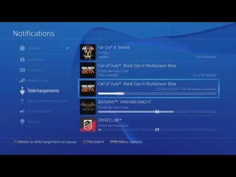 Télécharger beaucoup plus vite sur PS4