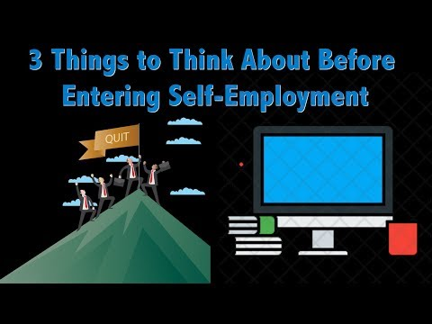 Self-Employment Tips — What to Consider Before Quitting Your Day Job