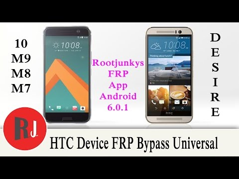 How to Bypass FRP on your HTC device Desire M8 M9 & 10