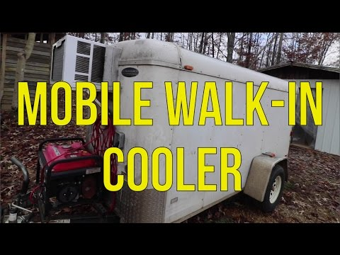 HOW TO BUILD A MOBILE WALK IN COOLER!!