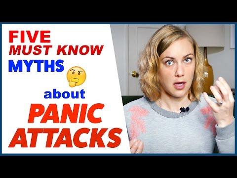 5  PANIC ATTACK MYTHS  | Kati Morton