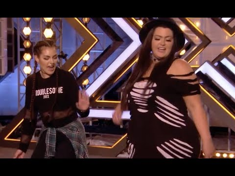Unbelievable Mother-Daughter Duo Shocks Everyone With 'Can't Hold Us' | Audition 3 | The X Factor UK