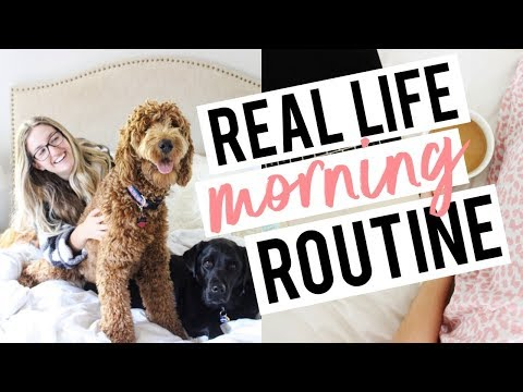 MY REAL LIFE MORNING ROUTINE | Becca Bristow