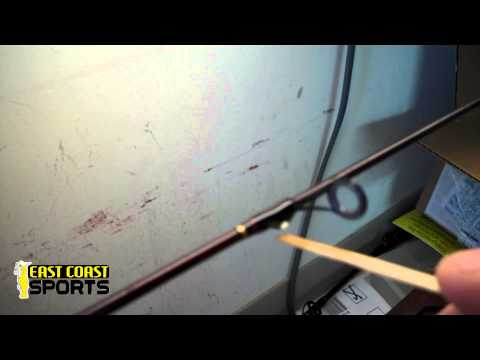 How to fix an eye on a rod