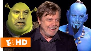 Mark Hamill Voice Acting Character Impressions Challenge | Fandango All Access