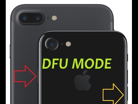 How to put your iPhone 7 or 7 plus  into DFU mode