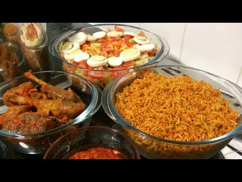 How to Cook Nigerian Jollof Rice | Jollof Rice with Easy Cook Long Grain Rice | Yummieliciouz Food