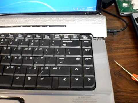 How to repair an HP Pavilion DV6000 Wireless WIFI problem  2011
