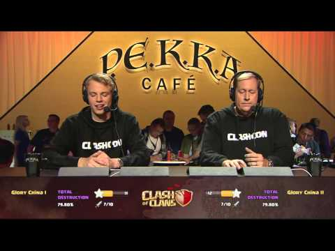 Clan War Semifinal: Glory China I vs. Glory China II