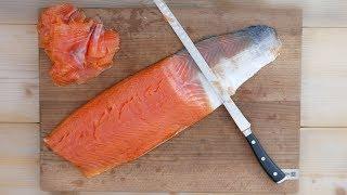 How To Cold Smoke Salmon  - Delicious Salmon Bagel