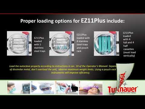 Operating the Tuttnauer EZPlus Autoclave
