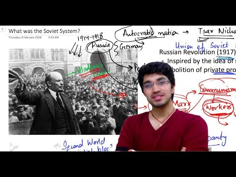 End of Bipolarity   Chapter-2   What is Soviet System   Part-1