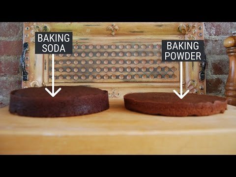 Here's the difference between baking powder and baking soda — and how to substitute one for another