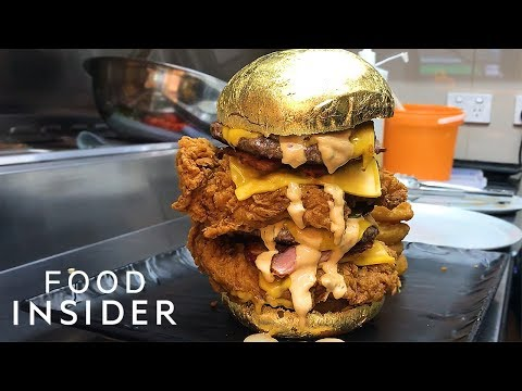 Is A $90 24-Karat Gold Burger Worth It?