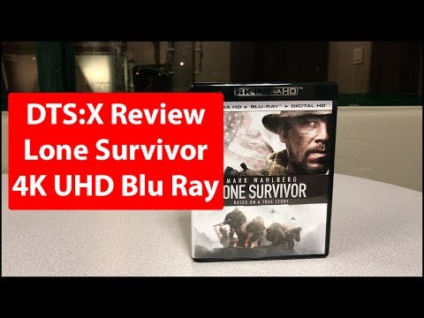DTS:X Review | Lone Survivor | 4K Blu Ray