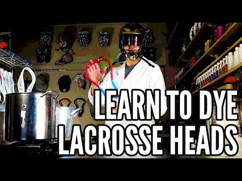 How To Dye Your First Lacrosse Head