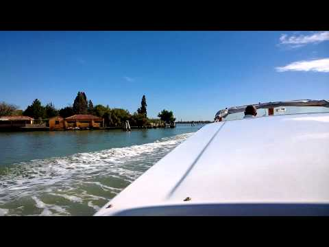 Venice water taxi from Marco Polo Airport
