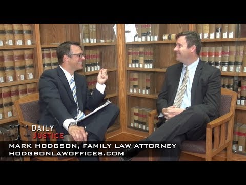 Child Support vs. Spousal Maintenance with Spokane Family Law Attorney Mark Hodgson on Daily Justice