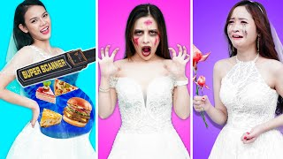 Funny Types of Brides At Weddings | Zombie Wedding | Funny Situations & Awkward Moments By T-FUN