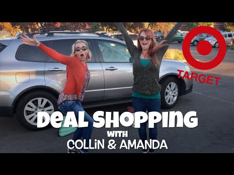 TAG TEAM Target Shopping! | Deal Shopping with Collin & Amanda